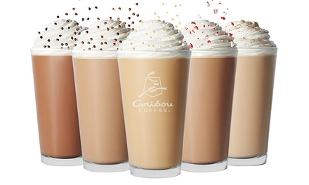 $10 for a $10 eGift Card and $5 Bonus Card at Caribou Coffee ($15 Total Value)