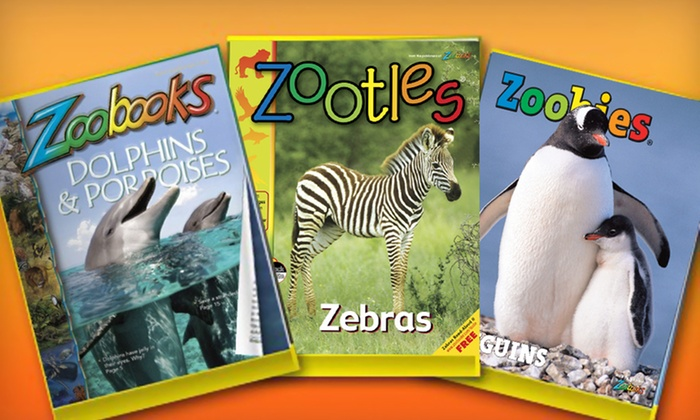 """Zoobooks,"" ""Zootles,"" or ""Zoobies"" Magazine Subscription: One- or Two-Year Animal-Magazine Subscription from Wildlife Education Ltd. (Up to 68% Off). Free Shipping."