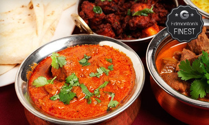 New Asian Village - Sherwood Park: East Indian Dinner for Two or Four with Appetizers and Drinks at New Asian Village (Up to 61% Off)