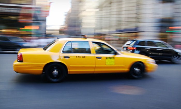Yellow Cab - San Francisco: $25 for Five Groupons, Each Valid for $10 Worth of Cab Rides from Yellow Cab ($50 Total Value)