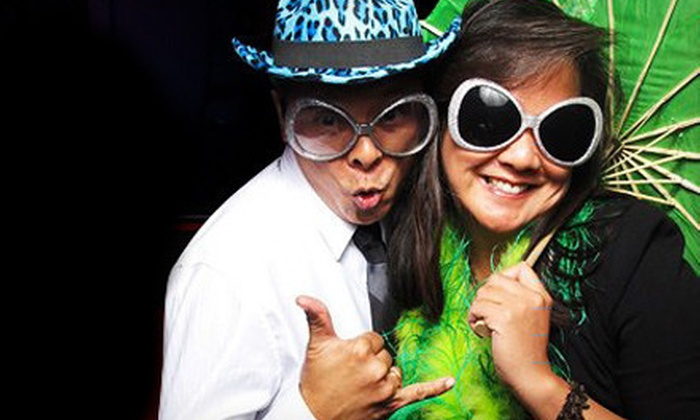 LA Photobooth Rentals - Downtown Santa Monica: Two- or Four-Hour Photo-Booth-Rental Package from LA Photobooth Rentals (Up to 71% Off)