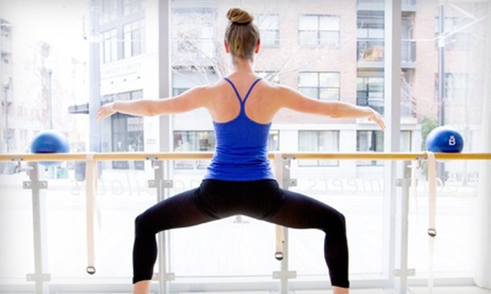 Barre3 - Morristown: $49 for Four Barre Fitness Classes at Barre3 ($100 Value)