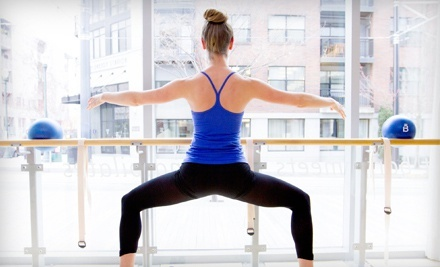 $49 for Four Barre Fitness Classes at Barre3 ($100 Value)