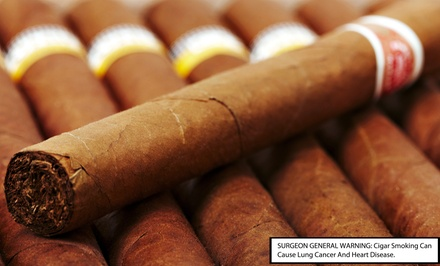 Cigar and Wine Pairing for Two or Four at John Rolfe Tobacco Company (Up to 45% Off)