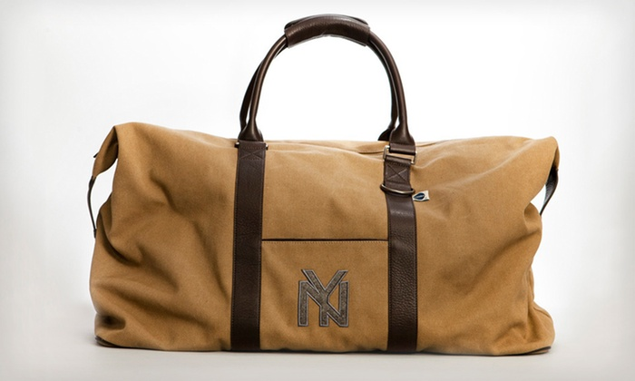 NY Black Yankees Large Duffel Bag: $79 for a Blue Marlin New York Black Yankees Large Vintage Sports Duffel Bag ($175 List Price). Free Shipping.