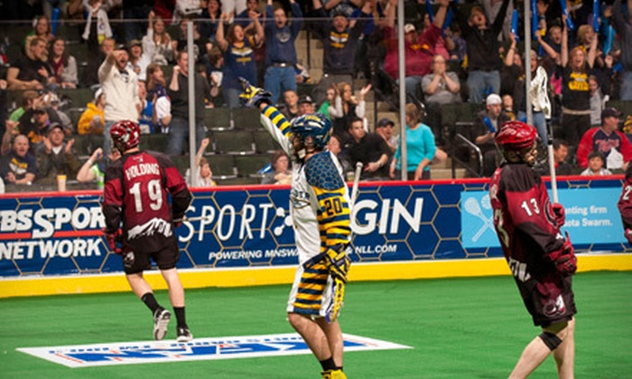 Minnesota Swarm - Xcel Energy Center: $27 for a Minnesota Swarm Lacrosse Game for Two at Xcel Energy Center on January 26 or February 8 (Up to $69.62 Value)