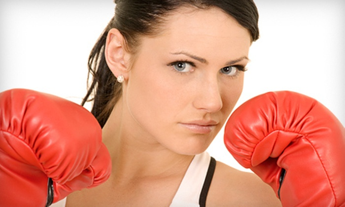 Perfect Balance Fitness & Martial Arts Training - Multiple Locations: 5 or 10 Kickboxing Classes with One Private Session at Perfect Balance Fitness & Martial Arts Training (84% Off)