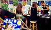 Wine and Design Greensboro - Old Irving Park: BYOB Canvas Painting Class for One or Four at Wine & Design (Up to 46% Off). Three Options Available.