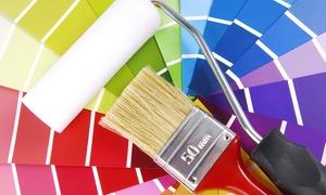 CA Restauri: Imbiancatura fino a 150 m² più una, 2 o 3 pareti colorate con CA Restauri (sconto fino a 86%)