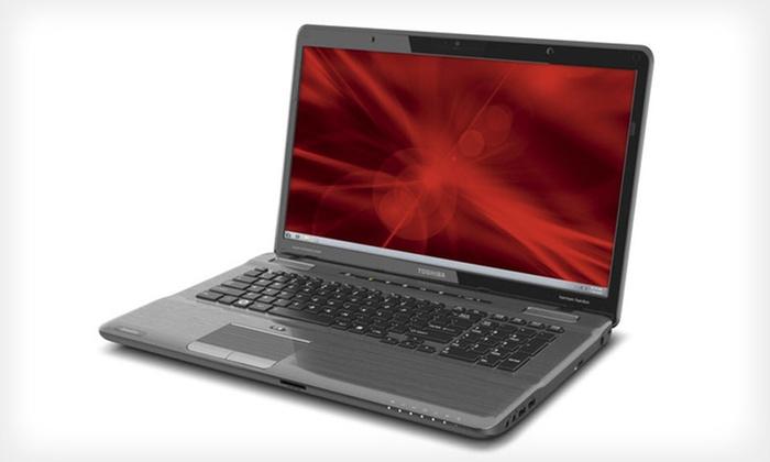 17.3 In. Toshiba Satellite Laptop: $359 for Toshiba Laptop (Manufacturer Refurbished) ($815.99 List Price). Free Shipping.