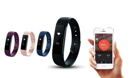 Reloj fitness AQ con monitor de ritmo cardíaco