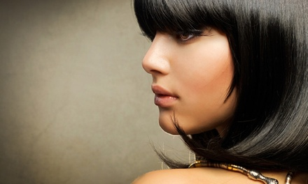 Women's Haircut and Style with Optional Color or Highlights at Mitsu Sato Hair Academy (Up to 53% Off)