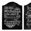 Inspirational Chalk Panel Wood Art