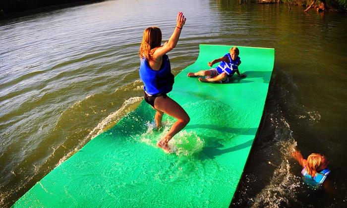 18 Foot Water Mat Float Groupon Goods