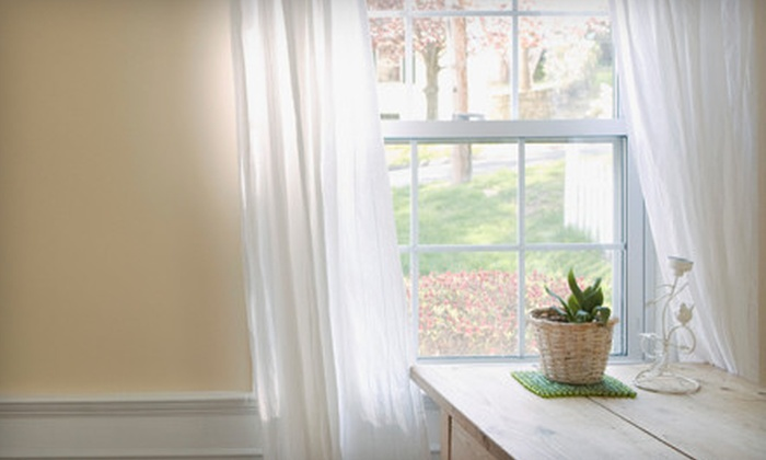 Cactus Window Cleaning - Laveen: Two or Four Hours of Window Cleaning from Cactus Window Cleaning (Up to 57% Off)