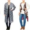 Derek Heart Plus-Size Long Cardigan or Vest