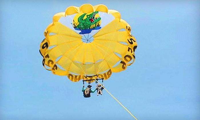 Big Toho Parasailing - Cocoa Beach-Cape Canaveral: $50 for a Parasail Flight from Big Toho Parasailing ($100 Value)