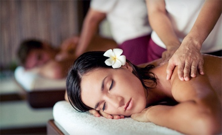 Spa Package with Optional Hair Services at Allure De Vie Salon & Day Spa (Up to 57% Off). Three Options Available.