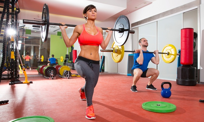 HealthRidge Fitness Center - Multiple Locations: One-Month CrossFit Membership  at HealthRidge Fitness Center (Up to 62% Off)