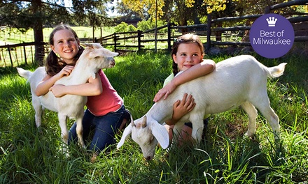 Animal Petting Farm Visit for Two or Four at Green Meadows Petting Farm in Waterford (Up to 54% Off)
