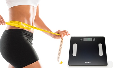 Vivitar HealthSmart Body Fat/Hydration Digital Scale.
