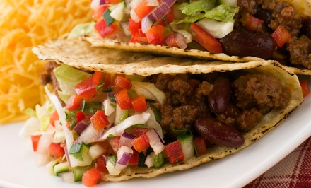 Mexican Dinner for Two or Four  at  Mexicali Mexican Restaurant (Up to 50% Off)