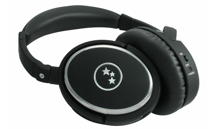 Able Planet True Fidelity Active Noise-Canceling Around-the-Ear Headphones with Microphone and Music Control Options: Able Planet True Fidelity Active Noise-Canceling Around-the-Ear Headphones with Microphone and Music Control Options