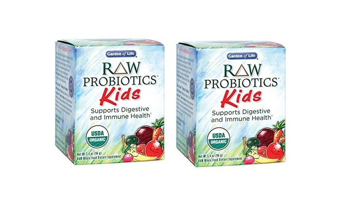 Garden of Life Kids Probiotics Groupon Goods