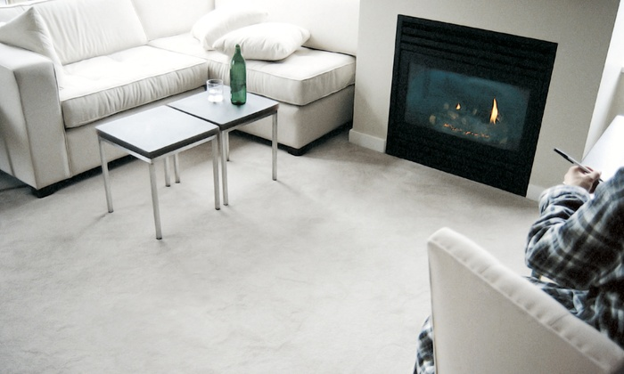 Heaven's Best Carpet Cleaning - Salt Lake City: Upholstery Cleaning or Carpet Cleaning for Three or Up to Eight Rooms (Up to 54% Off)