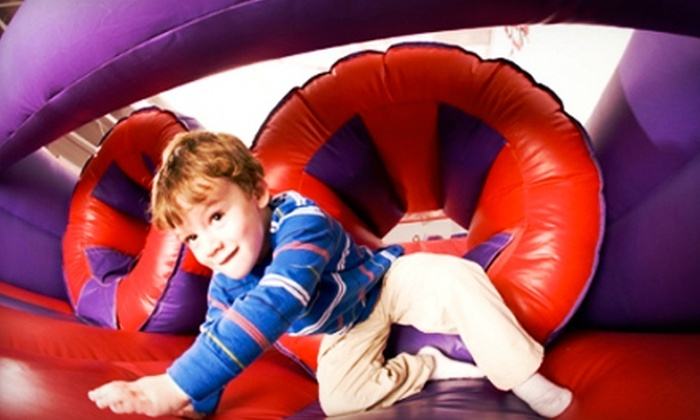 Hop Around Play and Party Center - Downtown: Birthday Party for 16 Kids, or Two or Four Open-Play Visits at Hop Around Play and Party Center (Up to 62% Off)