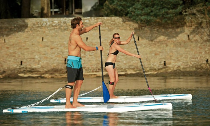 Napa Valley Paddle - Deer Park: $129 for Two-Hour Standup Paddleboard Tour for Two with Wine at Napa Valley Paddle ($258 Value)
