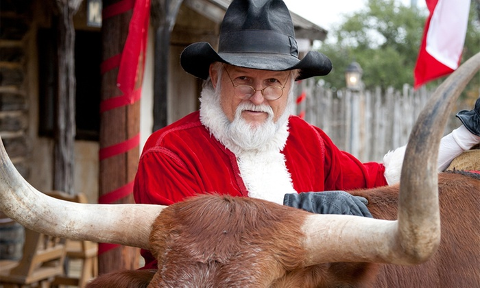 Enchanted Springs Ranch - Boerne: Admission to Cowboy Christmas for Two or Four at Enchanted Springs Ranch on December 20 or 21 (Up to 50% Off)