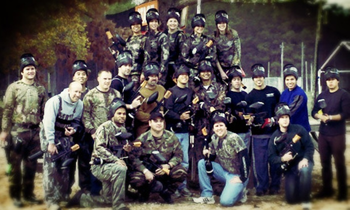 TxR Paintball - TXR Paintball: Paintball Admission, Gear, and 100 Paintballs Each for 2, 4, or 10 at TxR Paintball (Up to 78% Off)