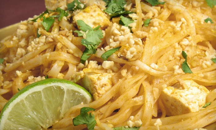 Lime Leaf Thai Restaurant - Windy Hill: $12 for $25 Worth of Thai Dinner Fare and Drinks at Lime Leaf Thai Restaurant