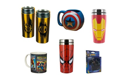 Paladone Marvel-Themed Drinkware