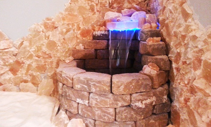 The Centerville Salt Room - Independence Square: $44 for a Private Halotherapy Session and Chair Massage for Two at The Centerville Salt Room ($80 Value)