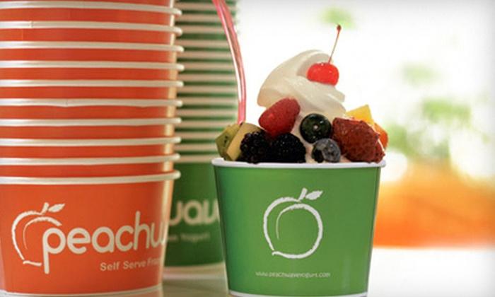 Peachwave Yogurt - Maple Tree: $10 Worth of Frozen Yogurt