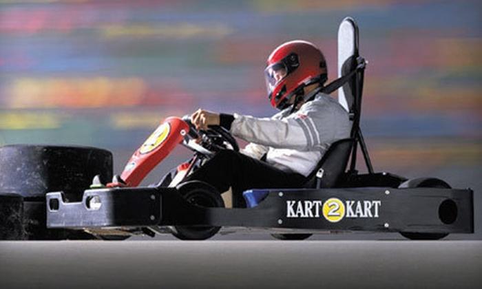 Kart 2 Kart - Sterling Heights: Two Open-Track Go-Kart Races ($34 Value)