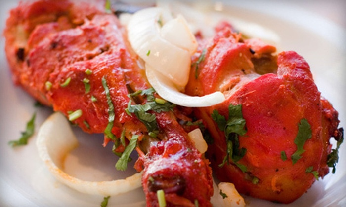 Maurya Fine East Indian Cuisine - Hillurst: Indian Cuisine for Two or Four at Maurya Fine East Indian Cuisine (Half Off)
