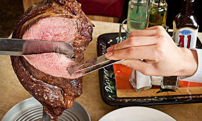 Rio's Steak House - North Plymouth: $15 Worth of Brazilian Steak-House Fare and Buffet Eats