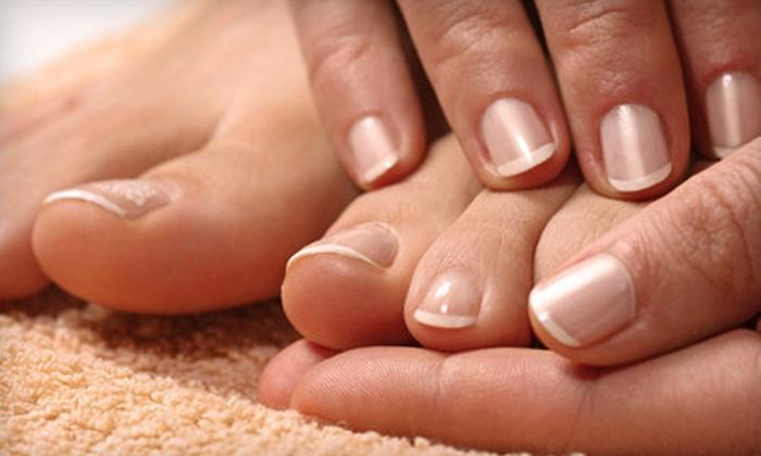Nails by Lindsey at Crimson Salon - Norman: No-Chip Manicure or Pedicure from Nails by Lindsey at Crimson Salon (Up to 58% Off)