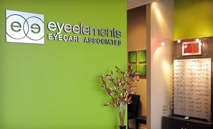 Complete Pair of Plastic-Lens Prescription Eyeglasses w/ Optional Lined Bifocals ($199 value) - EyeElements Eyecare Associates in Jacksonville