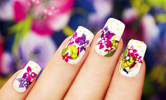 Idol Nail - Stanmore Bay: Acrylic Nails ($30) or Spa Manicure and Pedicure ($32) at Idol Nail (Up to $60 Value)