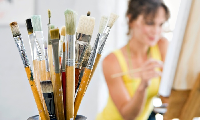 Sovino Wine Bar & Merchant - Old Monterey Business District: Paint and Sip Class for Two or Four with Canvas and Paint at Sovino Wine Bar & Merchant (45% Off)