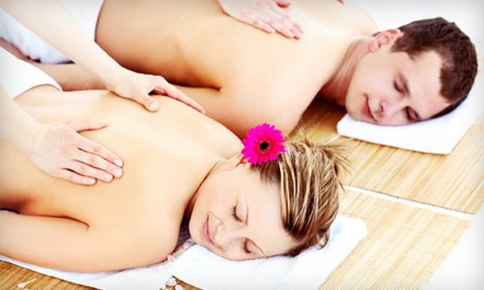 The Pink Nail Spa - Multiple Locations: $69 for a 50-Minute Couples Massage at The Pink Nail Spa ($150 Value)