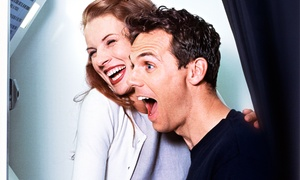 PhotoBooths.com: Five- or Three-Hour Photo-Booth Rental Package with Unlimited Prints fromPhotoBooths.com (Up to 59% Off)