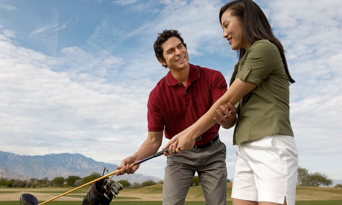 Wood & Olson Golf Performance - Pecan Grove: One or Six Private Golf Lessons or a Personalized Club Fitting at Wood & Olson Golf Performance (Up to 58% Off)