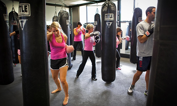 Title Boxing Club - Tulsa - South Tulsa: Unlimited Classes for One or Two or Three Personal-Training Sessions at Title Boxing Club Tulsa (Up to 61% Off)