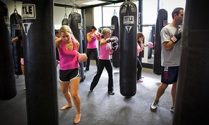 Title Boxing Club - Tulsa: Unlimited Classes for One or Two or Three Personal-Training Sessions at Title Boxing Club Tulsa (Up to 61% Off)