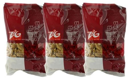 Fino a 3 kg di noci sgusciate Zig in confezioni da 150...